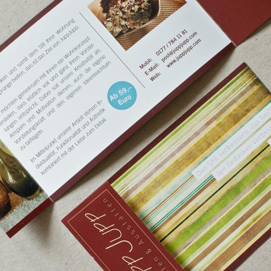 Flyer Visitenkarte CD CI Print