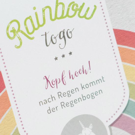 packeging design rainbow liebeskummerpillen