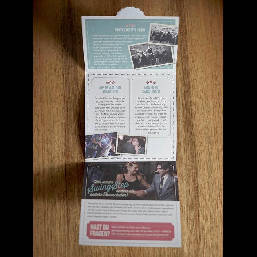SwingStep Flyer
