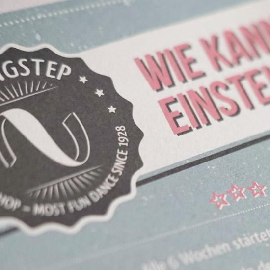 SwingStep Branding Corporate Design
