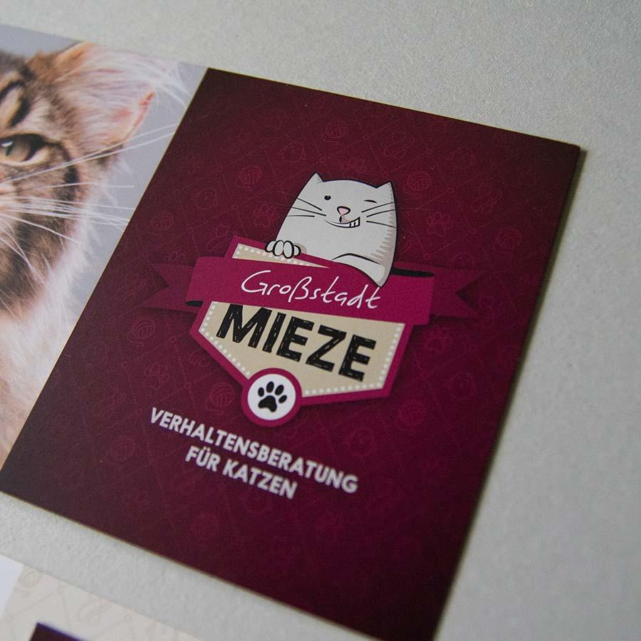 grossstadtmieze logo flyer