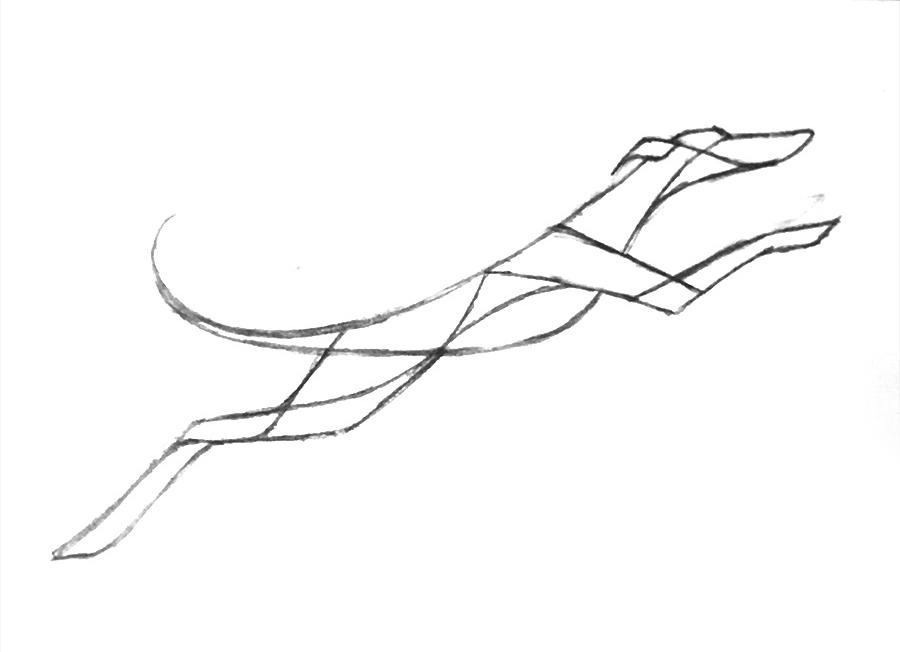 Ex Oriente Lux Logo Design Skizza